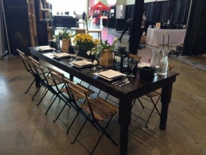 Harvest Table & Tuscany Chairs